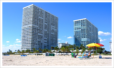 Point of Americas, Fort Lauderdale - Oceanfront complex, units from $500,000 and Up - www.cjmingolelli.com/florida