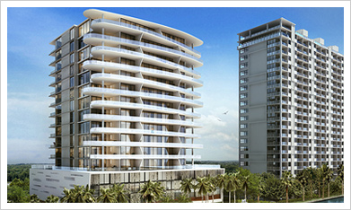 Aquablu, Fort Lauderdale - 2 & 3 Bedrooms Apartments - Price Range from $1.6 Million and Up